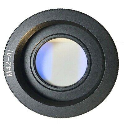 AdaptadorM42 para Nikon Enfoque al Infinito para cámara DSLR
