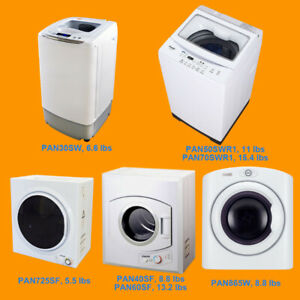 ★ Toronto Portable Apartment Compact Portable Wash/Dryer(110V)