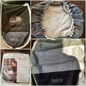 $25JJCOLE &$15BRICA- Car seat weather resistant covers