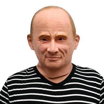 Russicher Präsident Vladimir Putin Maske Fasching, Karneval & Halloween Party