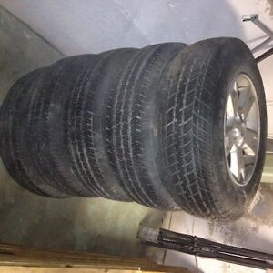 Goodyear Wranglers on Ford Escape Rims