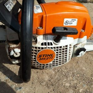 Stihl MS271 chain saw