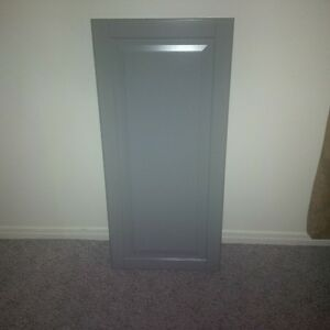 11 Lidingo GREY CABINET Doors only