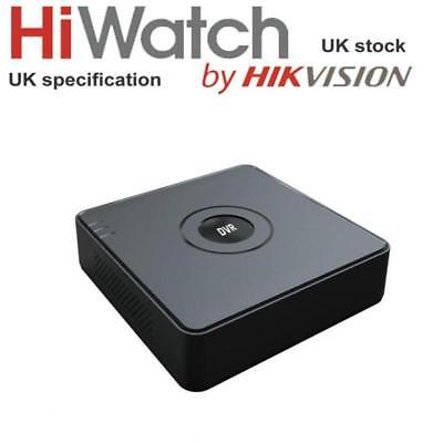 Hikvision HiWatch 4 Channel Turbo HD 2MP 1080P CCTV AHD TVI DVR Recorder P2P DVR