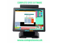 Complete ePos System, no monthly payments, pay once its yours for life!