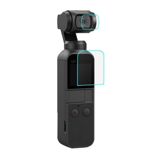 PULUZ HD Tempered Glass Lens Protector & Screen Film for DJI OSMO Pocket Gimbal