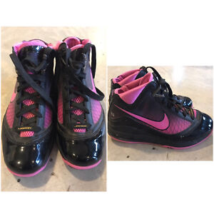 LeBron James Women's Pink/Black Sneakers St. John's Newfoundland image 1
