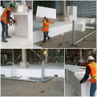 Rigid insulation, geofoam,pipe sleeve insulation covers