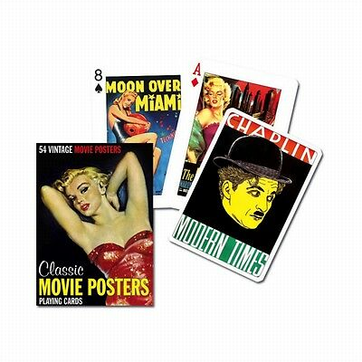 Classic Movie Posters set of 52 playing cards (gib)