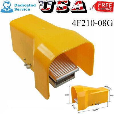 Foot Pedal Control Valve 2 Way 5 Port 14 Npt Air Pneumatic Switch W Guard Uqq