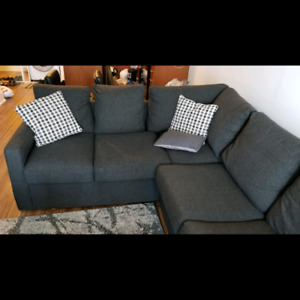Sectional Sofa with unused bed Leon's Athina - Right Facing