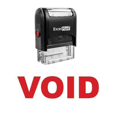 Void Stamp - Self-inking Red
