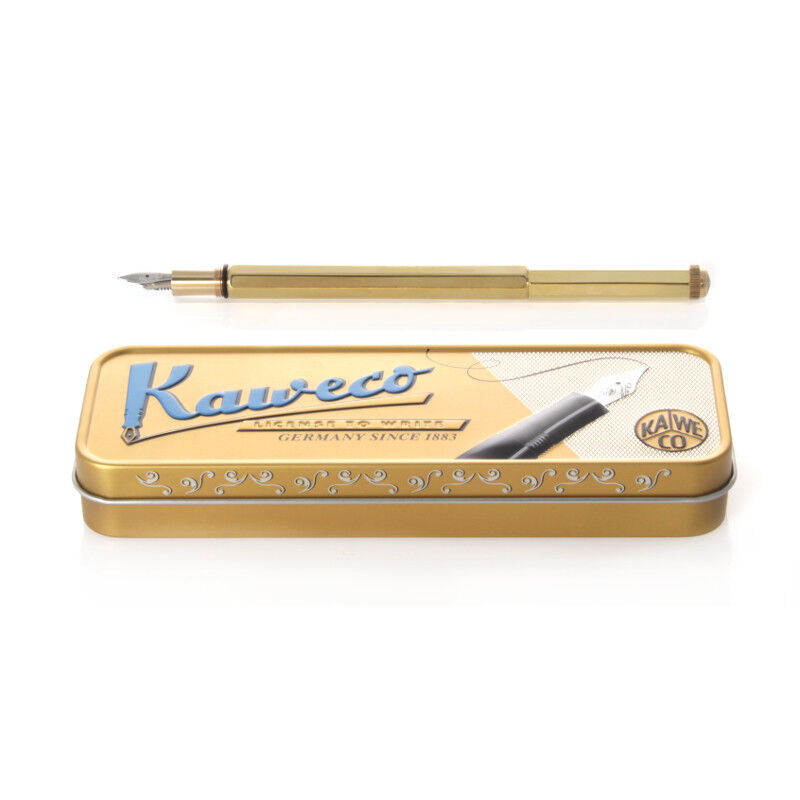 Kaweco Sport Fountain Pen Brass Nib EF
