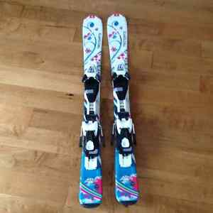 Technopro Sweety 90 youth skis used 2 times Strathcona County Edmonton Area image 1