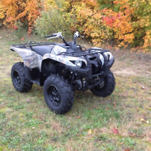 2014 Yamaha Grizzly 700 EPS Camo Special Edition<<