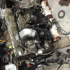 24v cummins engine complete