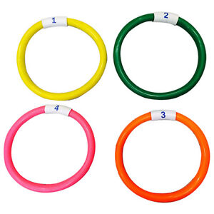 Underwater Swimming Ring Pool Dive Rings Children Kids Pool Swim Fun Dive Toys Ebay