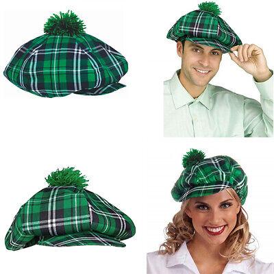 St Pat Day Hat Green Fedora Cap St Patrick Cap Theater Prop Halloween New - Pat Halloween