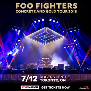 Foo Fighters Tickets Toronto GA Floor