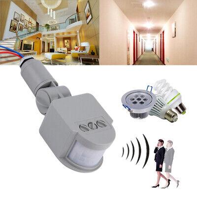 180°Outdoor AC110V~240V LED Light Infrared PIR Motion Senso