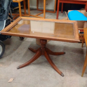 End Table - Picture Frame Top
