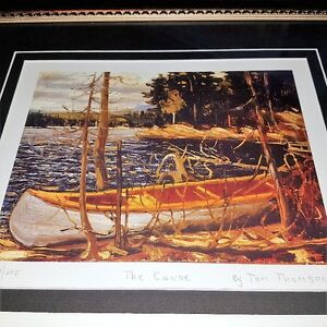 Certified Framed Group of Seven Double Print