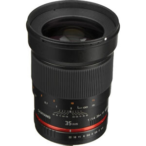 Samyang 35mm f/1.4 for Canon EF