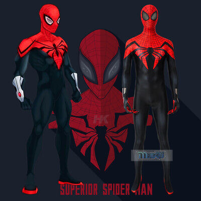 Marvel Comics Superior Spider-man Miles Cosplay Kostüm Costume - Marvel Spider Man Kostüme