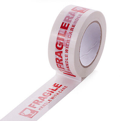 1x Fragile Tape Handle With Carewidth 5cmlength 100m