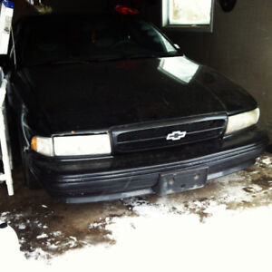 1994 impala ss clean title good project!