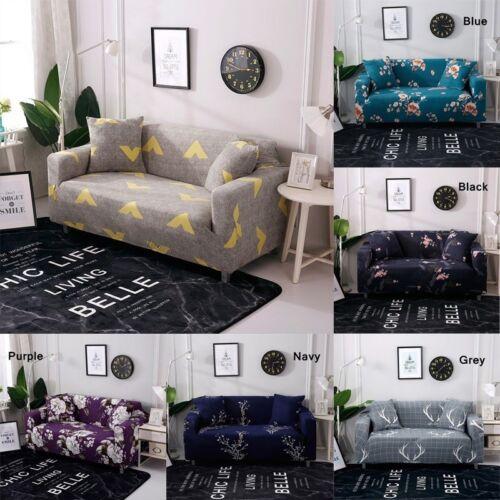 New 7 Styles Floral Elastic Sofa Cover Throw Sofa Protector Slipcover Home Decor