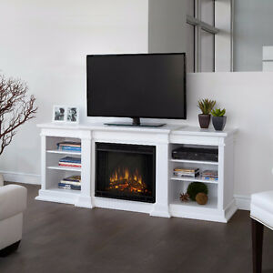 Mid-size electric fireplace