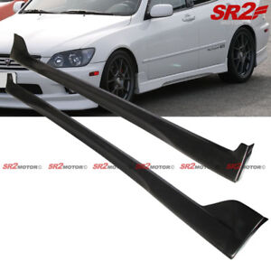 TR-d Style Side Skirt Body PU Bumper Lip Kit fits 00-05 Lexus IS300 Altezza