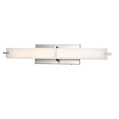 4 PARK, 26 Inch  Bathroom Vanity Lighting Fixture Brush -
