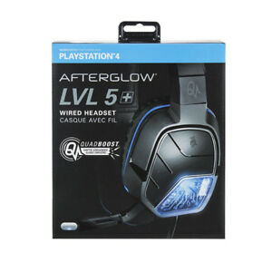NEW OPENED/DAMAGED BOX-PS4 AFTERGLOW LVL 5 WIRED HEADSET - $50