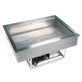 TEFCOLD CW4 1/1 DROP IN GASTRONORM S/S COOLING WELL