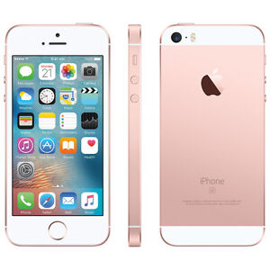 Apple iPhone SE, 16GB, Rose Gold, Telus/Koodo (NEW Warranty Repl
