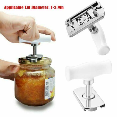 Can Opener Jar Bottle Manual Stainless Steel Lid Remover Adj