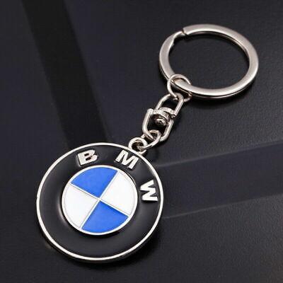 LLAVERO BMW LOGOTIPO EMBLEMA con cadena coche moto llaves mochila nuevo