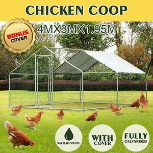 HUGE Walk In 4m/6m Chicken Coop! Dog Exercise Pen, Cat Enclosure! Hobart CBD Hobart City Preview