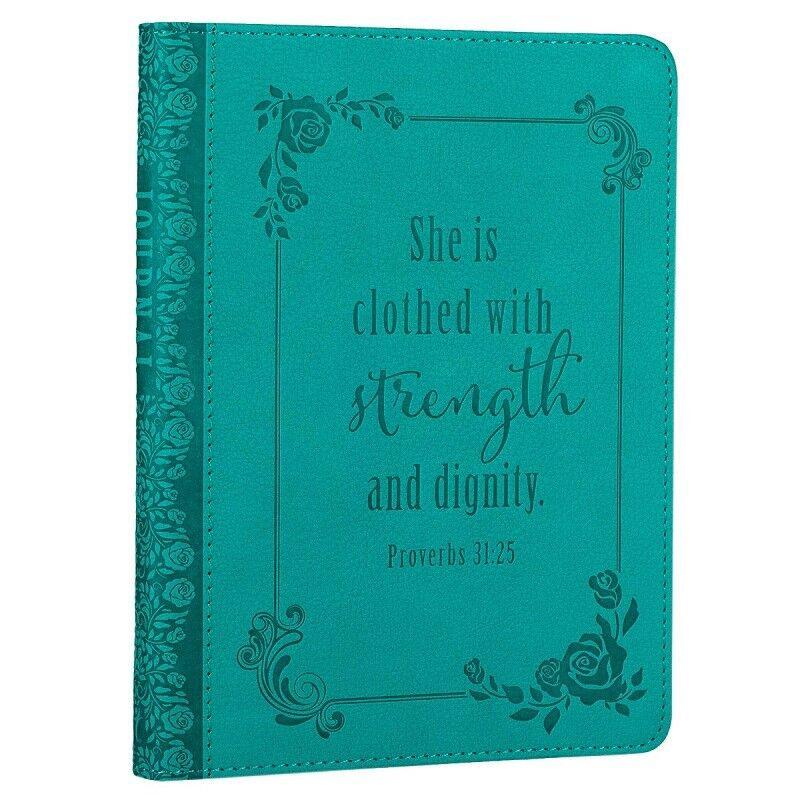 Christian Journal For Women Girls Teens Proverbs She is Clot