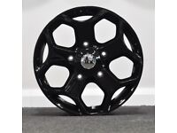 "18"" Transit ST Style (Black) Alloy wheels and tyres 5x160"
