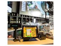 Aures Yuno Epos TouchScreen System Pos Bar, Restaurant, Takeaway, Retail Fast Food Coffee shop