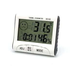 Mini Digital Thermometer Humidity Meter Room Temperatur Indoor LCD Hygrometer UK