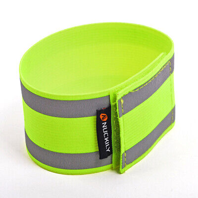 Reflective Tape Bands Adjustable Running Gear Safety Reflector Arm Strap Safe