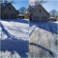Residential snow removal/ OC landscape
