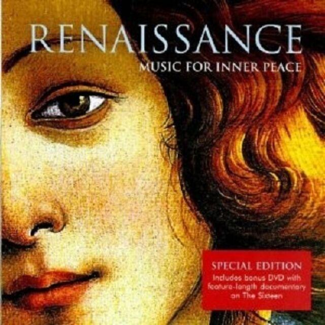 HARRY CHRISTOPHERS /SIXTEEN,THE - RENAISSANCE-MUSIC FOR INNER PEACE  CD + DVD NE