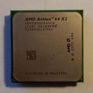 Processeur AMD Athlon 64 X2 3800+ 2.0GHz socket AM2 double coeur