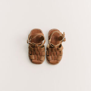 Leather sandals size 27