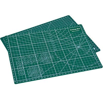 PVC Cutting Mat A4 Durable Self-Healing Cut Pad Patchwork Tools Handmade TH